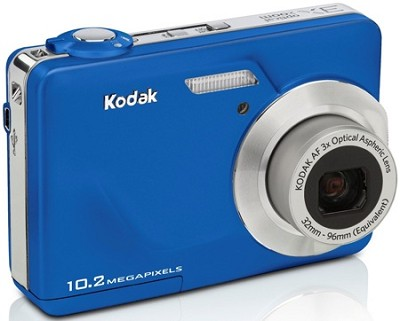 EasyShare C180 10.2 MP 3x Zoom 2.4` LCD Digital Camera (Blue)