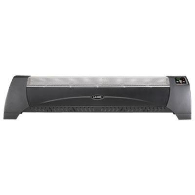 1500 Watt Digital Low-Profile Heater in Black (5624)