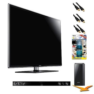 UN46D6400 46 inch 120hz 1080p 3D LED HDTV with HW-D550 - Home Theater Bundle