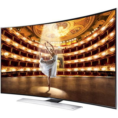 UN78HU9000 - 78-Inch Ultra High-Def.UHD 4K Curved 3D Smart TV Wi-Fi - OPEN BOX