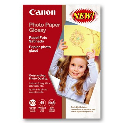 Photo Paper Glossy 4` x 6` 100 Sheets