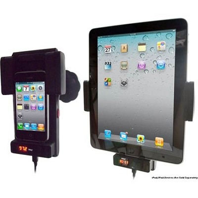 iPod/iPad/iPhone Player Gooseneck Mount with Wireless FM Transmitter
