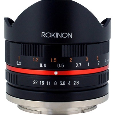 Series II 8mm F2.8 Fisheye Lens for Fuji X Mount