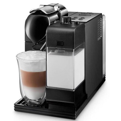 EN520B Lattissima Plus Capsule Espresso/Cappuccino Machine - Black