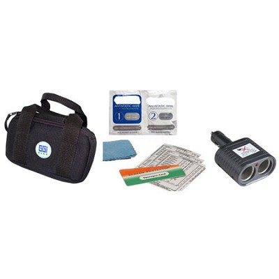 4 Piece GPS Travel Kit