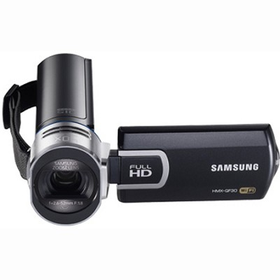 HMX-QF30 Full HD Camcorder with WiFi - Black - OPEN  BOX