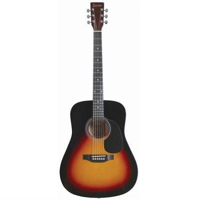 LA125 Dreadnought Acoustic Guitar - Vintage Sunburst