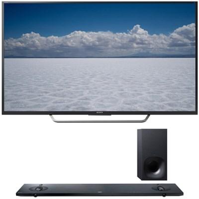 XBR-65X750D - 65` Class 4K Ultra HD TV with Sony HT-NT5 Sound Bar
