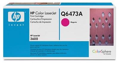 Magenta Print Cartridge for LaserJet 3600 Printers