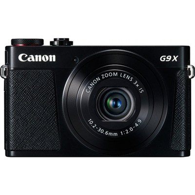 PowerShot G9 X Digital Camera w/ 3x Optical Zoom, Wi-Fi and 3 inch LCD - Black