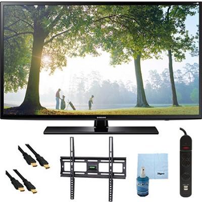 UN50H6203 - 50-Inch 120hz Full HD 1080p Smart TV Plus Mount & Hook-Up Bundle