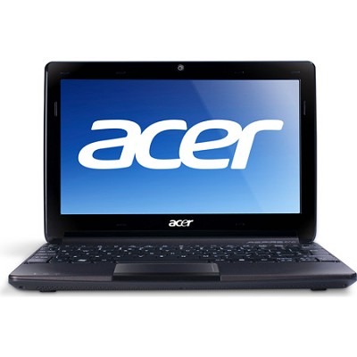 Aspire One AO722-0418 11.6` Netbook PC (Black) - AMD Dual-Core C-60 Accel. Proc.
