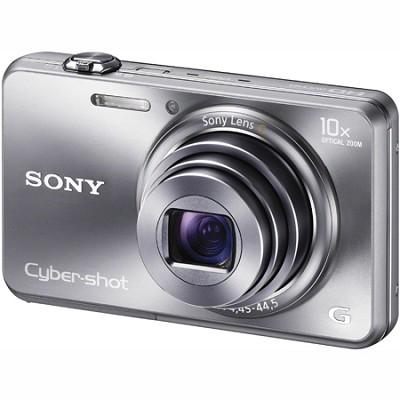 Cyber-shot DSC-WX150 18.2 MP 10x Optical HD Video 3D Sweep Camera (Silver)