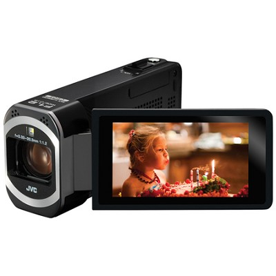 GZ-VX700BUS - HD Everio 3.0` Touchscreen 10x Zoom f1.2 Wifi (Black)  - OPEN BOX