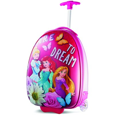 18` Upright Kids Disney Themed Hardside Suitcase - Princess