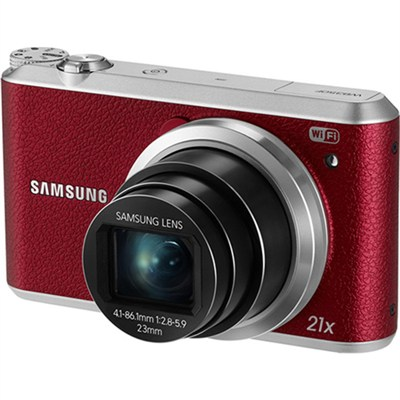 WB350 16.3MP 21x Opt Zoom Smart Camera - Red - OPEN BOX