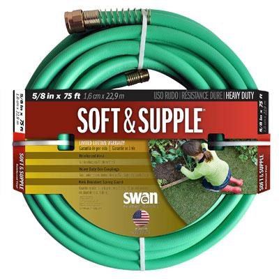75' Swan Soft and Supple Rubber Hose - CSNSS58075