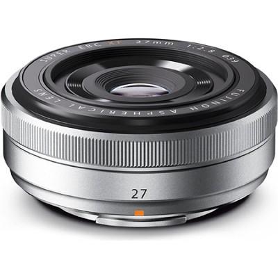 Fujinon XF 27mm (41mm) F2.8 Silver X-Mount Lens