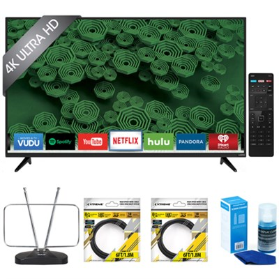 D50u-D1 D-Series 50-Inch 4K Ultra HD LED Smart HDTV with Accessories Kit