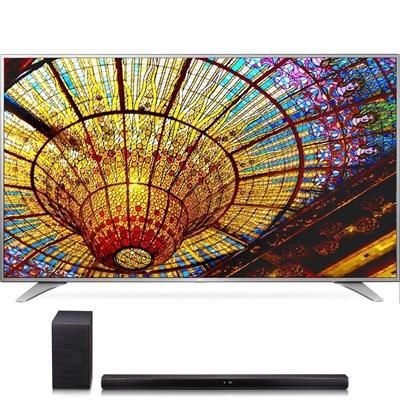 55UH6550 55-Inch 4K UHD Smart TV w/ webOS 3.0 + SH7B Premium Soundbar