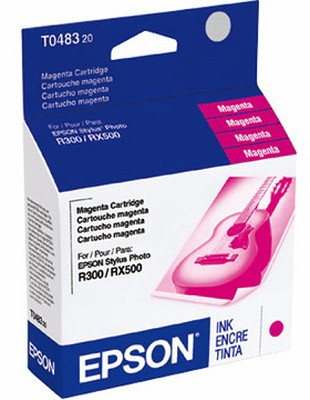 Magenta Ink Cartridge FOR R200, R300, R330M, RX500 + RX600