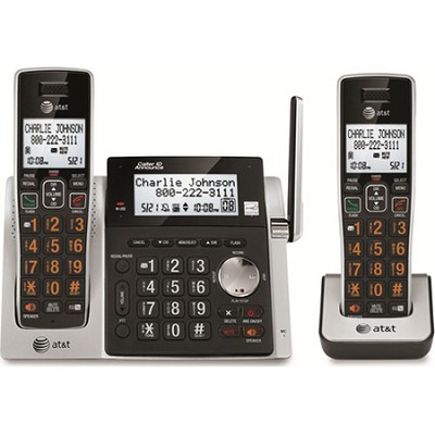 DECT 6.0 Expandable Cordless Phone System with Digital Answering System
