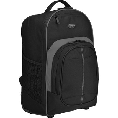Compact Roller Backpack for 16` Laptop