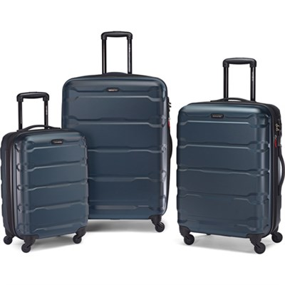 Omni Hardside Luggage Nested Spinner Set (20`/24`/28`) Teal (68311-2824)