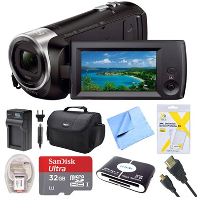 HDR-CX440 Full HD 60p Camcorder Deluxe Bundle