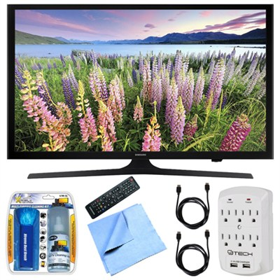 UN50J5000 - 50-Inch Full HD 1080p LED HDTV Essentials Bundle