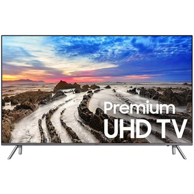 UN82MU8000 82` UHD 4K HDR LED Smart HDTV (2017 Model) - Refurbished