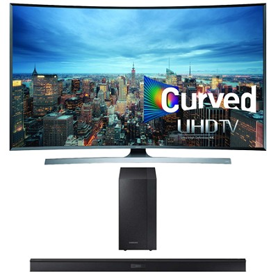 UN50JU7500 - 50-Inch 2160p 3D Smart UHD TV HW-J450 Soundbar Bundle