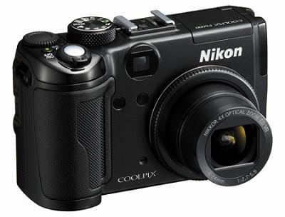 Coolpix P6000 Digital Camera (Black) -  REFURBISHED
