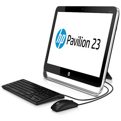 23` Pavilion 23-g110 All-in-One - AMD Quad-Core A6-5200 - OPEN BOX