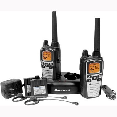 42-Channel GMRS with NOAA Weather Alert and 36 Mile Range Pair Pack - GXT860VP4