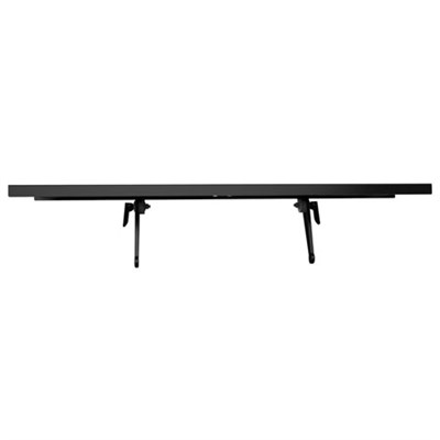 Large Top Media Shelf for TV Components, 24` Wide - ATS-124 - OPEN BOX