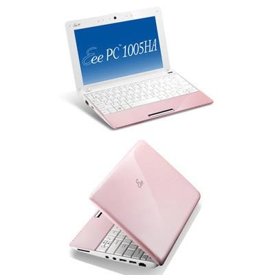 Eee PC 1005HA-V Seashell 10.1 inch Pearl Pink NetBook Windows XP