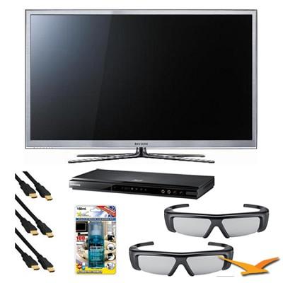 PN59D8000 59 inch 1080p 3D Slim Plasma HDTV 3D Kit