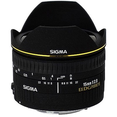 15mm F2.8 EX DG DIAGONAL Fisheye for Nikon SLR Cameras