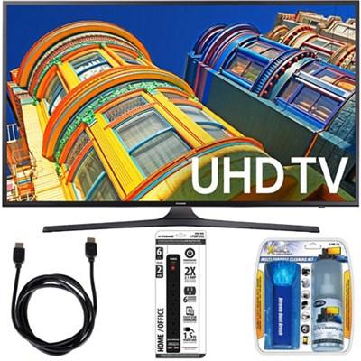 65` Class KU6290 6-Series 4K Ultra HD TV w/ Essential Accessory Bundle
