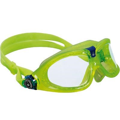 Aqua Sphere Seal Kid Goggle with Clear Lens and Lime/Blue Frame - 175310