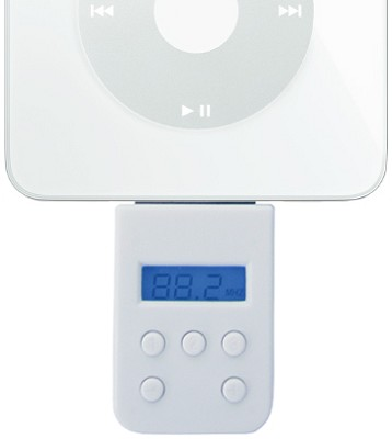 Compact Wireless FM Transmitter for iPod
