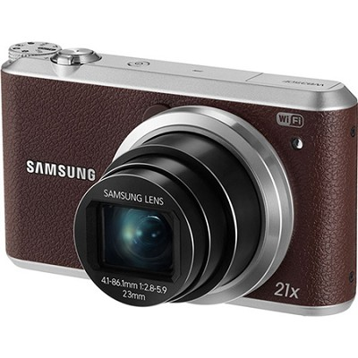 WB350 16.3MP 21x Opt Zoom Smart Camera - Brown - OPEN BOX
