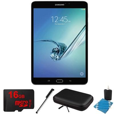 Galaxy Tab S2 8.0-inch Wi-Fi Tablet (Black/32GB) 16GB MicroSD Card Bundle