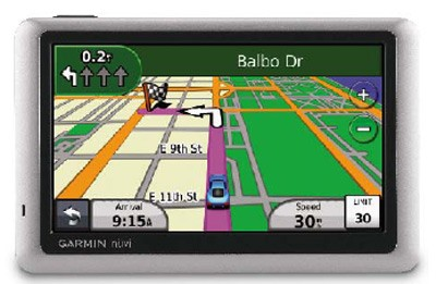 Nuvi 1450 GPS Navigation System with 5` LCD Screen