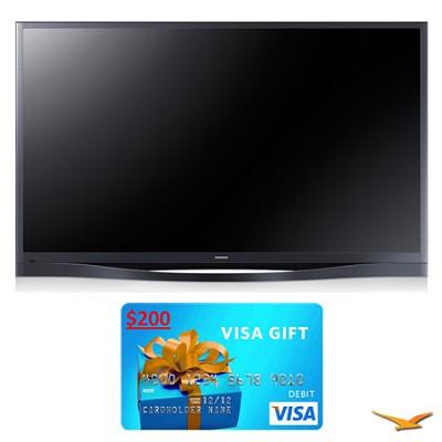 PN60F8500 60` 1080p 3D WiFi Plasma HDTV Bundle
