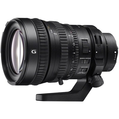28-135mm FE PZ F4 G OSS Full-frame E-mount Power Zoom Lens - OPEN BOX