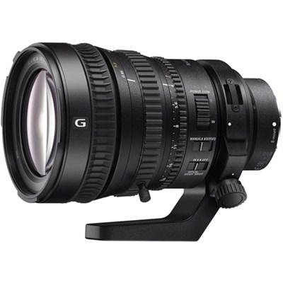 28-135mm FE PZ F4 G OSS Full-frame E-mount Power Zoom Lens - OPEN BOX