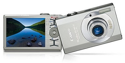 Powershot SD790 IS 10MP Digital ELPH Camera (Refurbished)