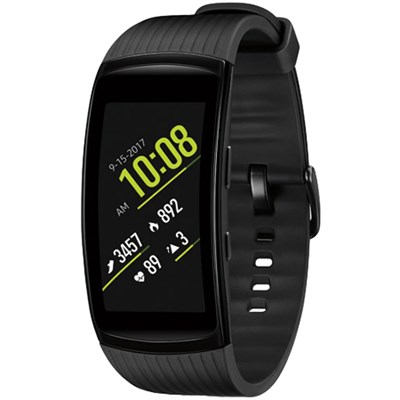 Gear Fit2 Pro Fitness Smartwatch - Black, Large - SM-R365NZKAXAR